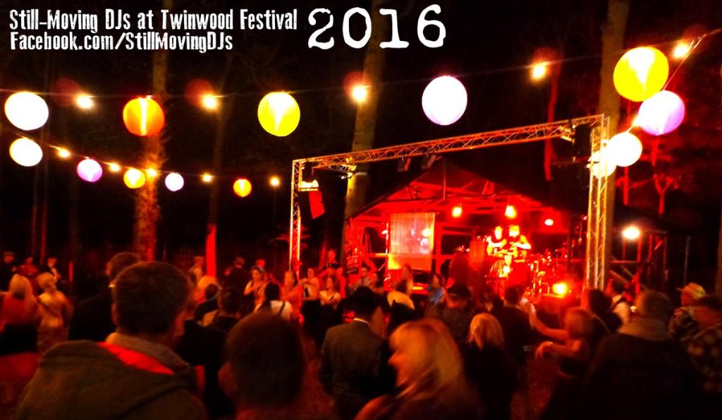 Still-Moving DJs at Twinwood Festival