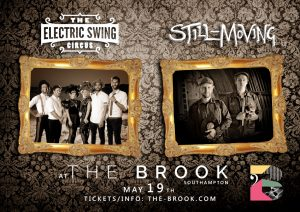 Still-Moving DJs and Electric Swing Circus - LIVE AT THE BROOK